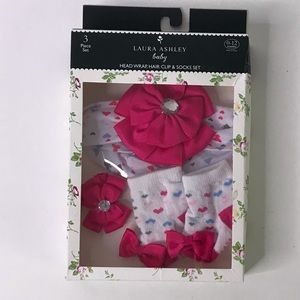 NWT Laura Ashley Baby 3pc Set